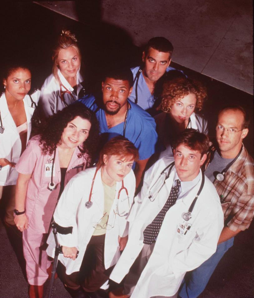E.R. Medici in prima linea George Clooney