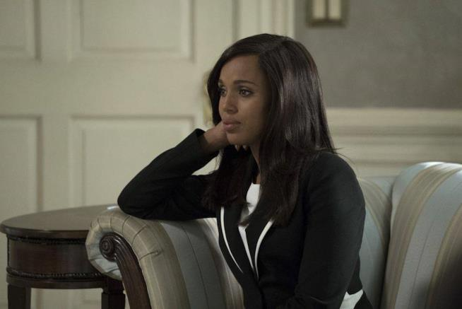 Olivia Pope in una scena di Scandal 7