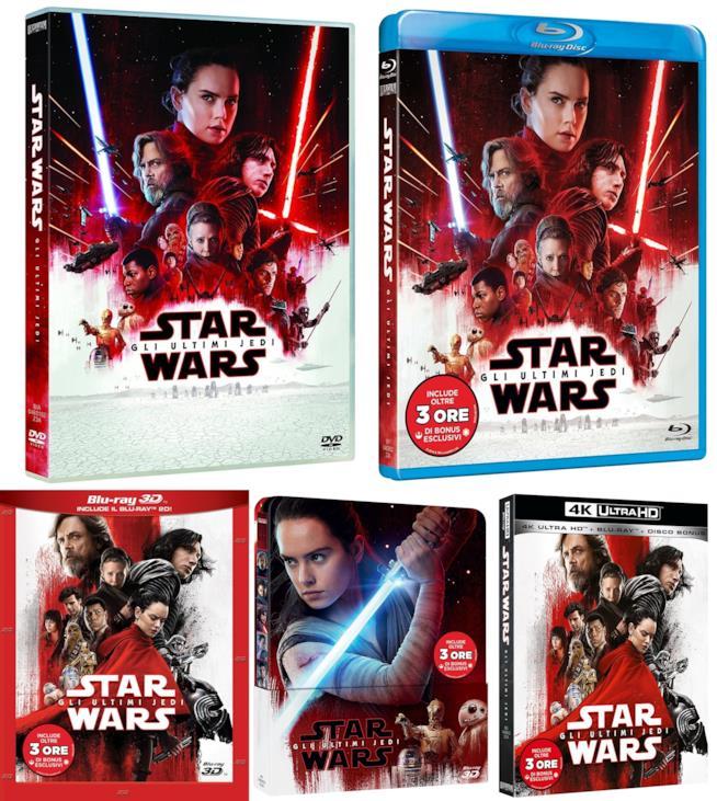 Edizioni home video di Star Wars: Gli ultimi Jedi