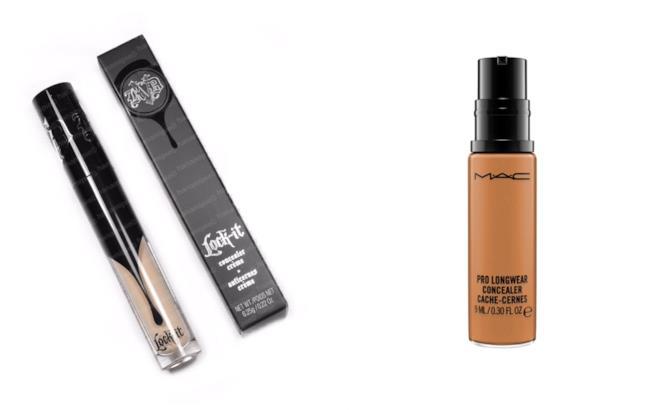 Correttori di Kat Von D e Mac Cosmetics