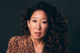 Sandra Oh in primo piano