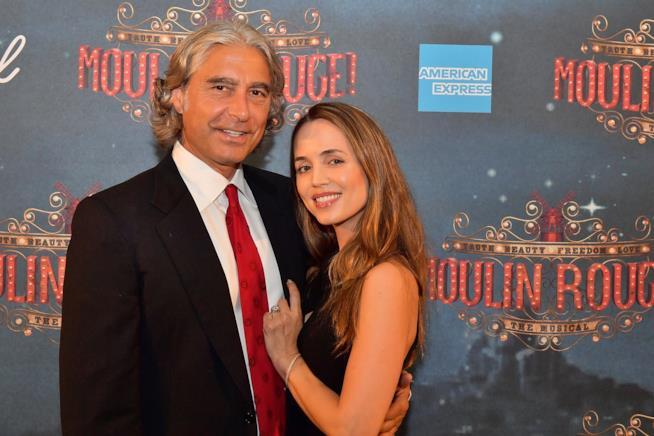 Eliza Dushku e l'imprenditorePeter Palandjian