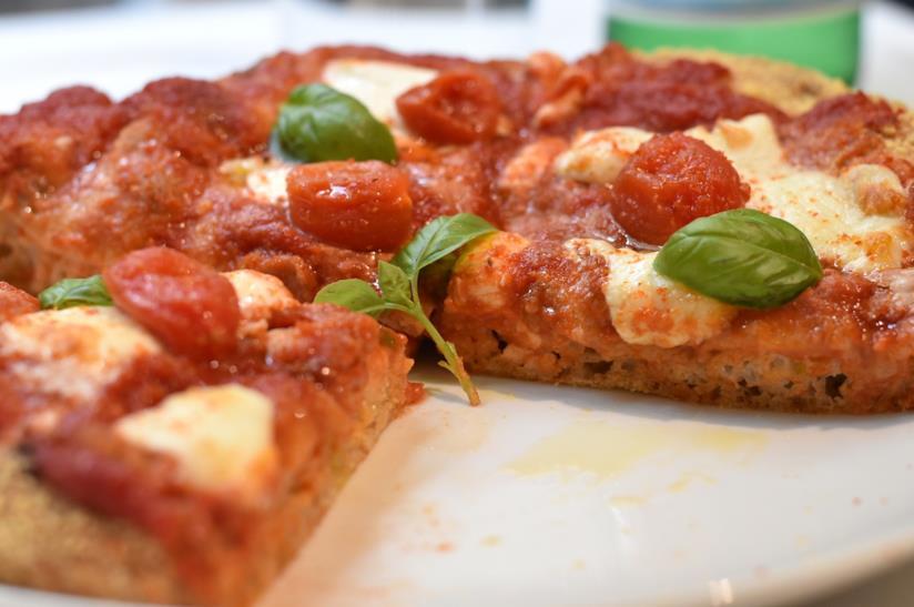 Pizza margherita di Cracco