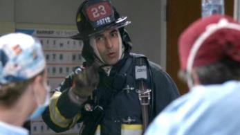 Uno dei pompieri visti in Grey's Anatomy