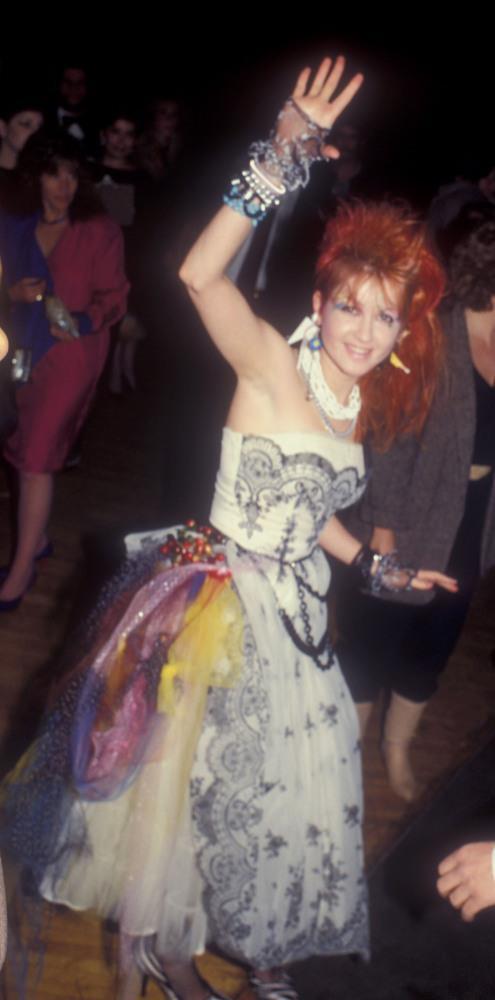 Cyndi Lauper nel 1984