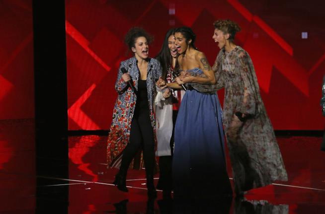X Factor Levante con le sue concorrenti