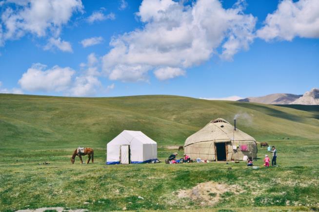 Yurte e trekking in Kirghizistan