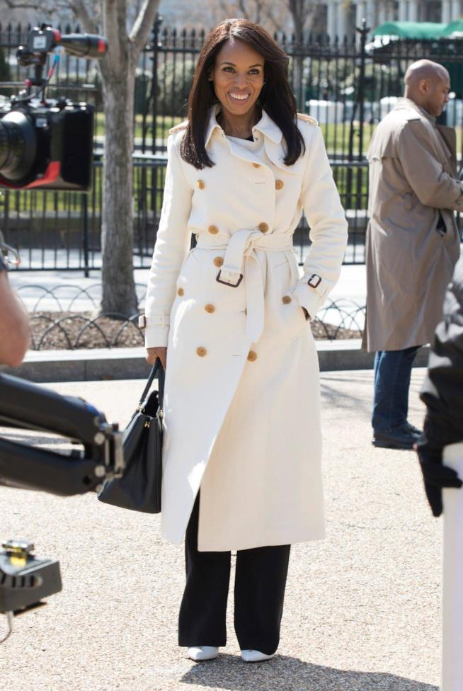 Olivia Pope in una scena del finale di Scandal