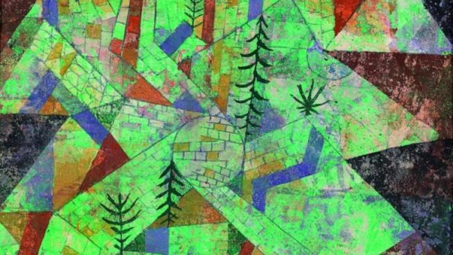 Un'opera di Klee
