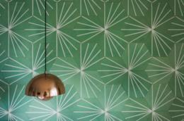 Decorazioni pareti di casa esempio
