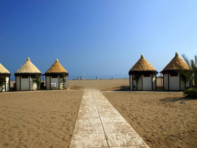 spiaggia del Lido di Venezia
