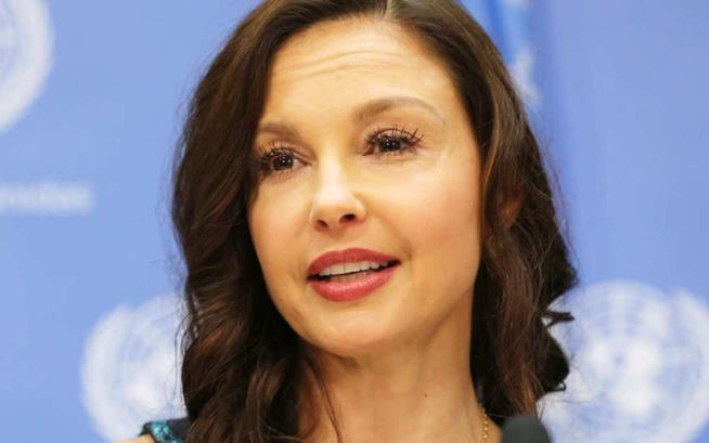 L'attrice Ashley Judd