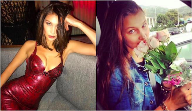 Due look di Bella Hadid