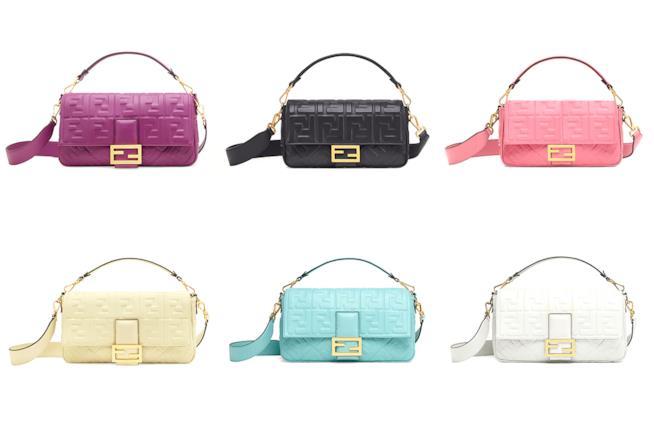 0a95e8e9bd Baguette is back! Fendi raises the iconic bag for Spring 2019 - Il ...