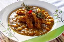 Zuppa di verdure con pollo