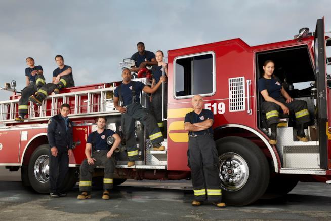 I pompieri della serie TV Station 19