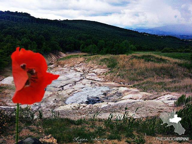 La Mefite, nei pressi di Rocca San Felice