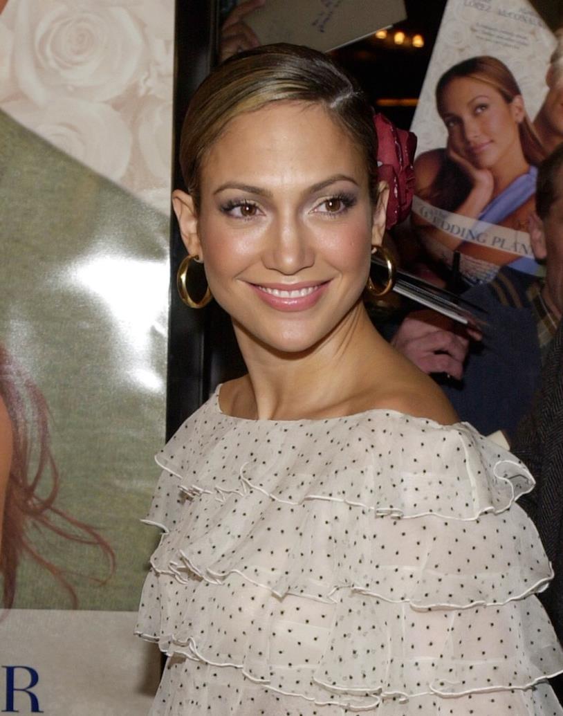 Una giovanissima Jennifer Lopez