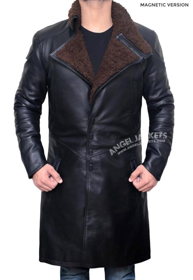 Cappotto di finta pelle identico a quello di Blade Runner