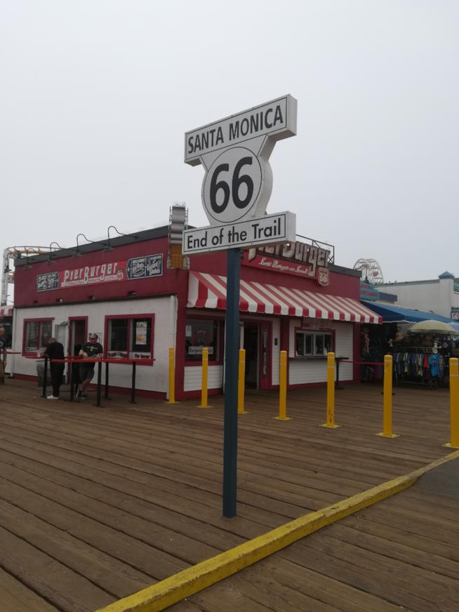"""Il segnale """"finale"""" della Route 66"""