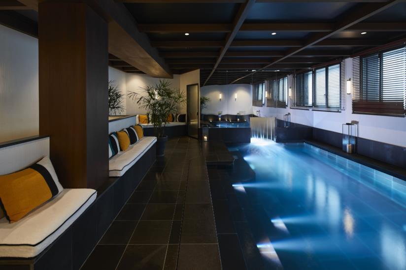 Piscina del Le Roch Hotel & Spa