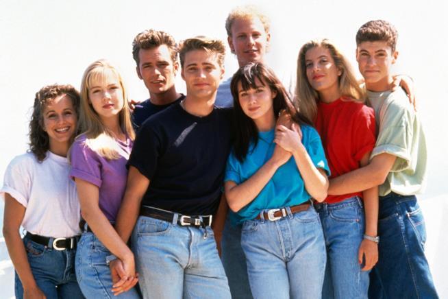 Il cast di Beverly Hills 90210