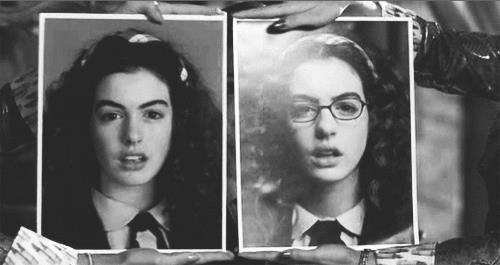 Anne Hathaway in una scena di Princess Diaries