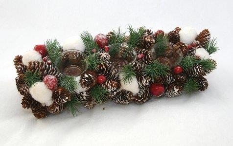 Centrotavola natalizio per la cucina