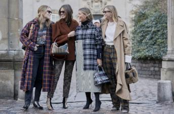 Outfit con giacche dallo Street Style Copenhagen A/I 2019