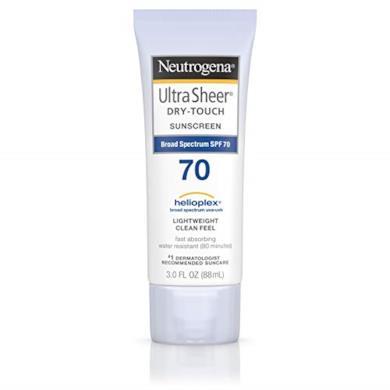 Neutrogena Ultra Sheer Dry-Touch Sunscreen, SPF 70