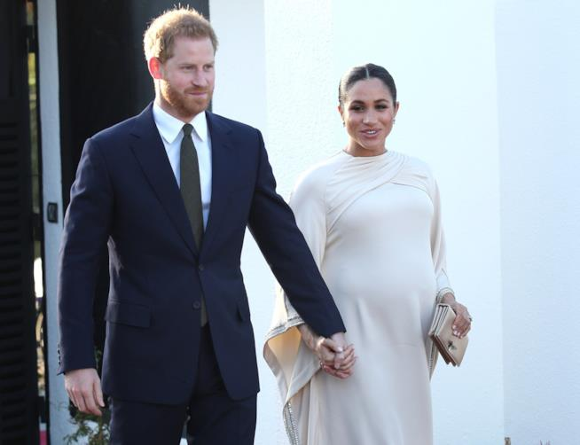 Il Ptincipe Harry e Meghan Markle