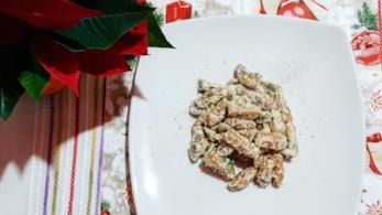 Primo piatto di pasta fresca