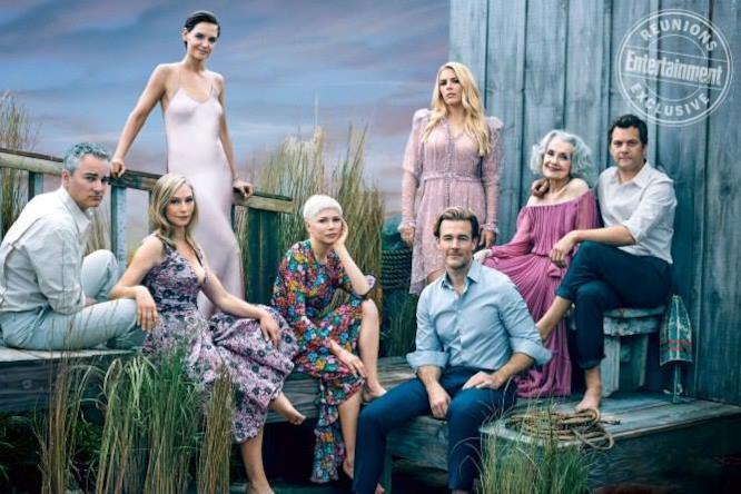 Il cast di Dawson's Creek nel 2018
