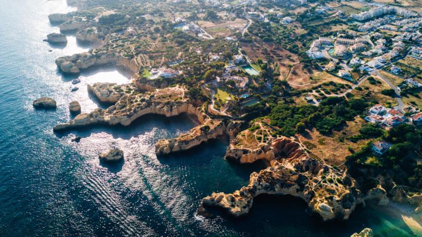 Algarve Portogallo la costa