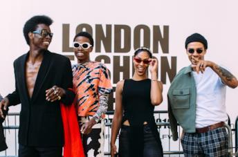 Modelli e fashionisti Street Style di Londra 2019
