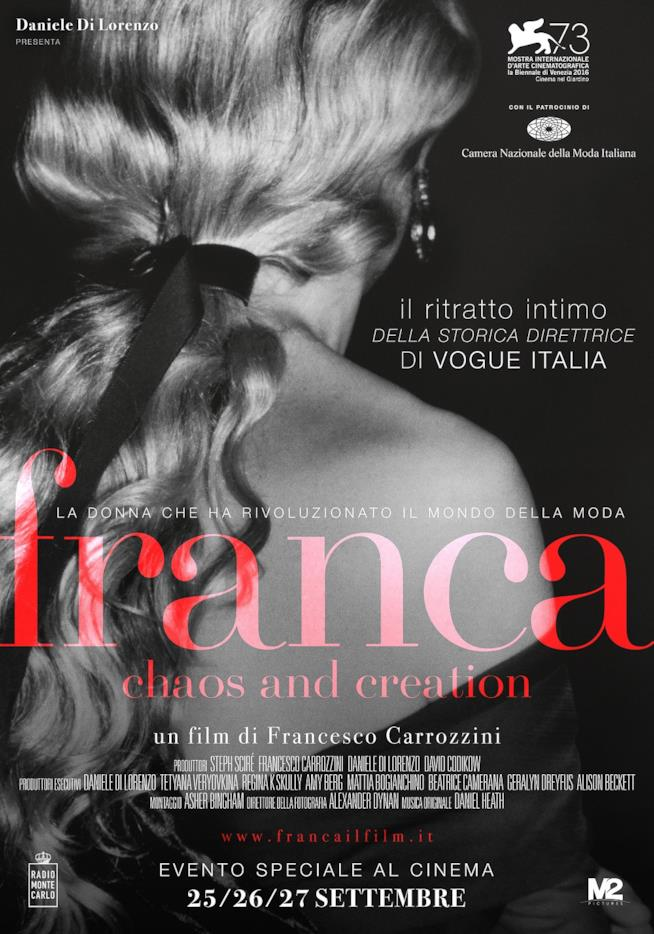 locandina film Franca: Chaos and Creation