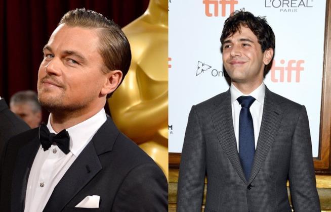 Gli attori Xavier Dolan e Leonardo DiCaprio