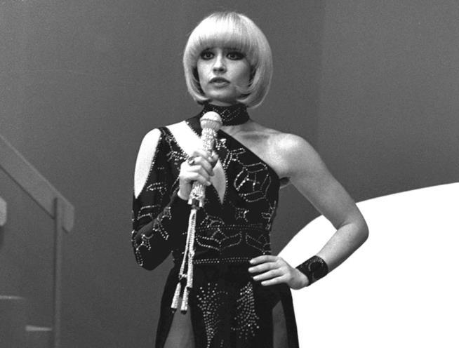 Raffaella Carrà in una foto degli anni'70
