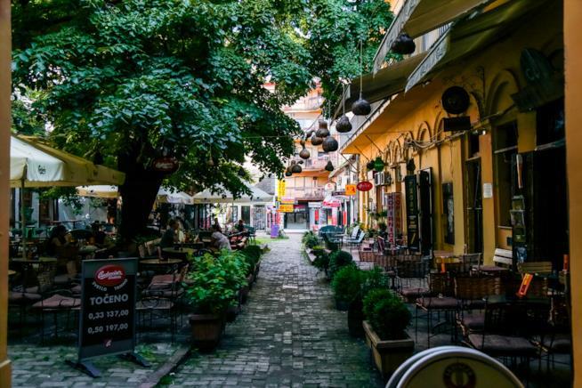 Zmaj Jovina, una delle strade più cool di Novi Sad