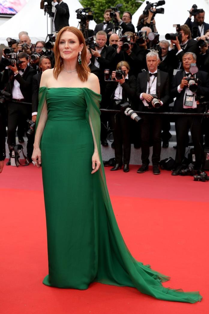 Julianne Moore sul red carpet di Cannes