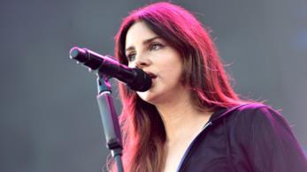 Lana Del Rey durante un concerto