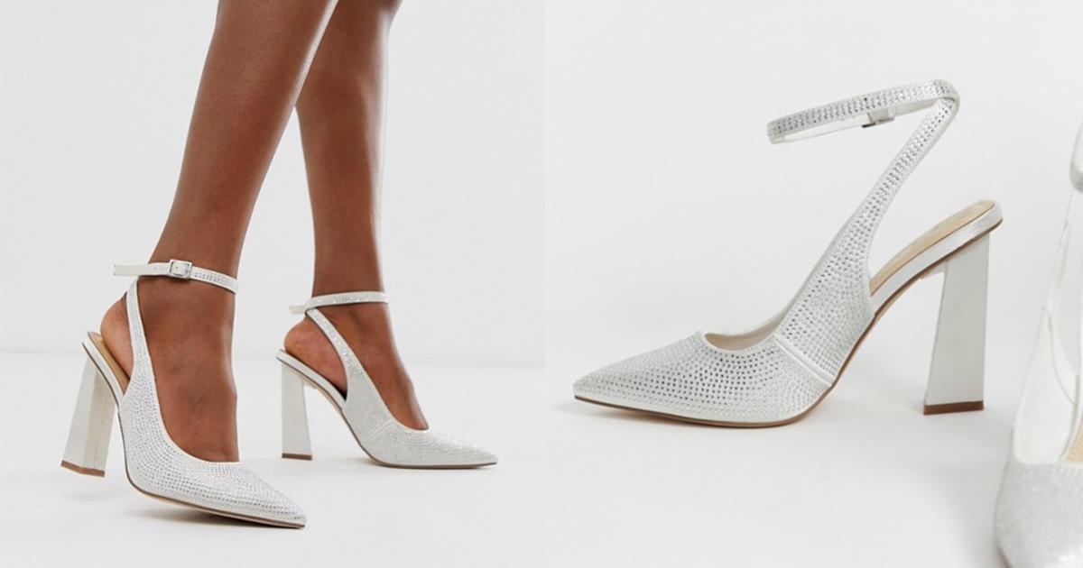 Décolleté, sandali gioiello e ballerine: le scarpe da sposa più belle di Asos