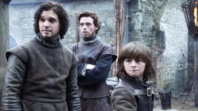Jon Robb e Bran stupiti