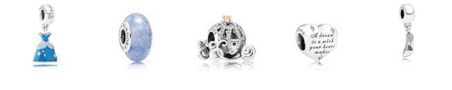 I charms di Pandora ispirati a Cenerentola