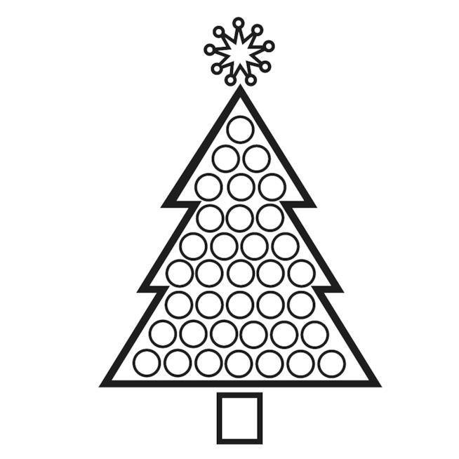 Albero Di Natale Disegni Da Scaricare Stampare E Colorare