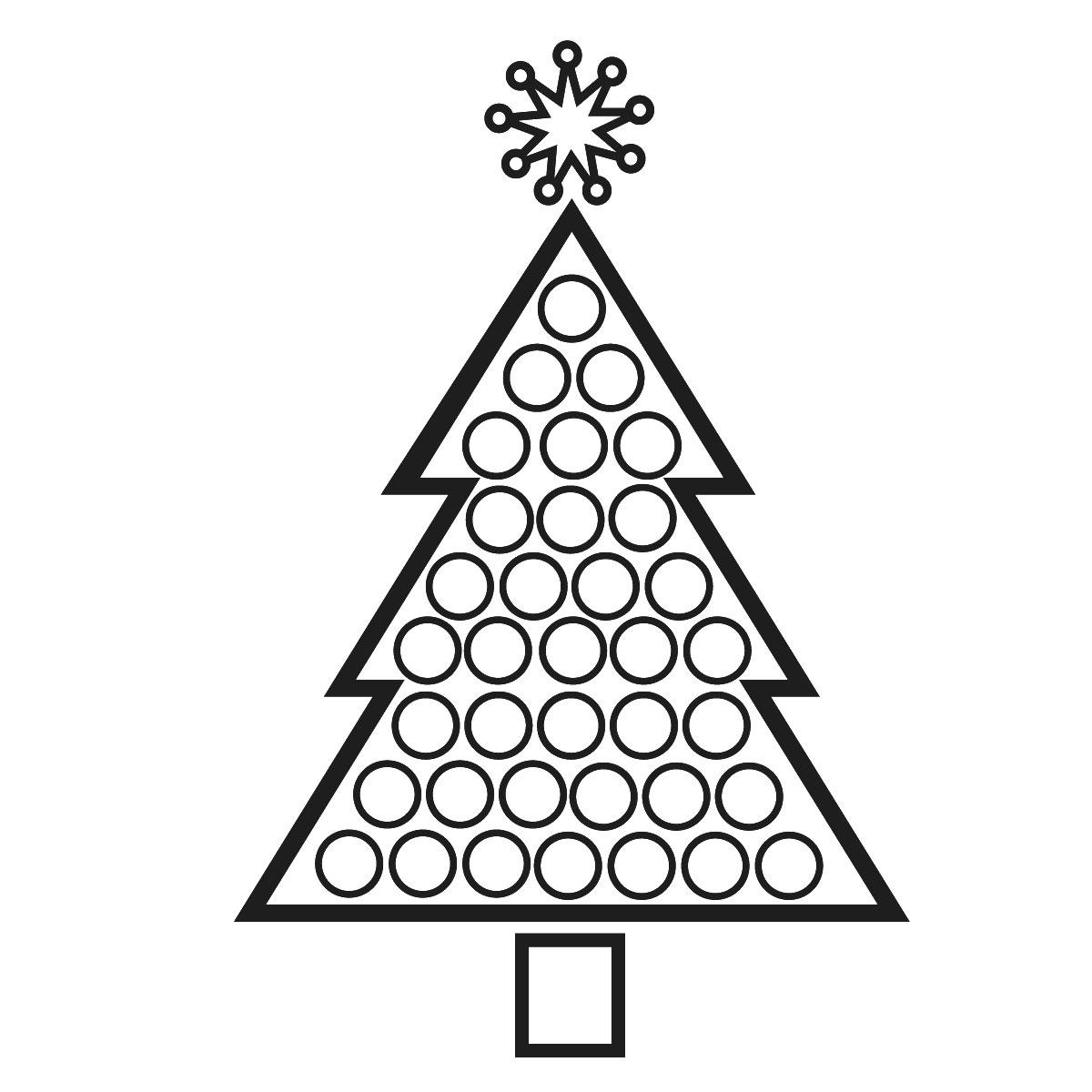 Come Fare Biglietti Di Natale Per Bambini.Albero Di Natale Disegni Da Scaricare Stampare E Colorare
