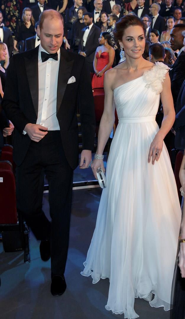 Kate Middleton e William ai BAFTA