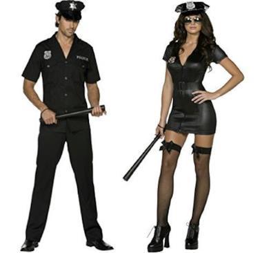 Ladies & Mens Fever Police Uniforme