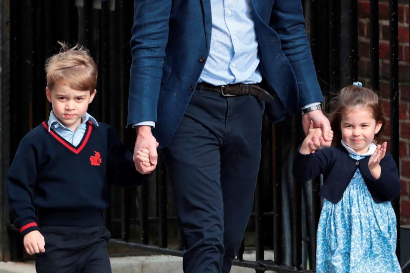 Principe George, Principe William, Principessa Charlotte
