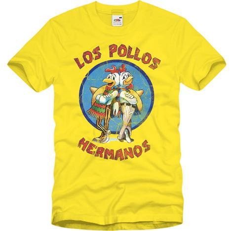 La maglietta a tema Los Pollos Hermanos di Breaking Bad
